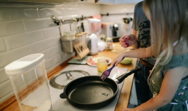 <p>Ook kan er worden gekookt in het Ontmoetingshuis.</p>