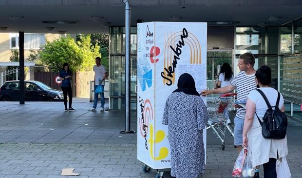 <p>Morgen worden in de container van SamenDeStad op het Dijkgraafplein de plannen voor de buurt besproken.</p>