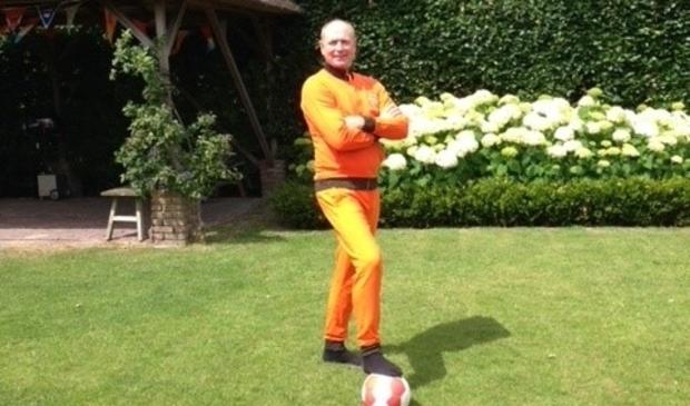 <p>Ron Verschoor ziet dit Oranje wel richting de finale gaan.</p>