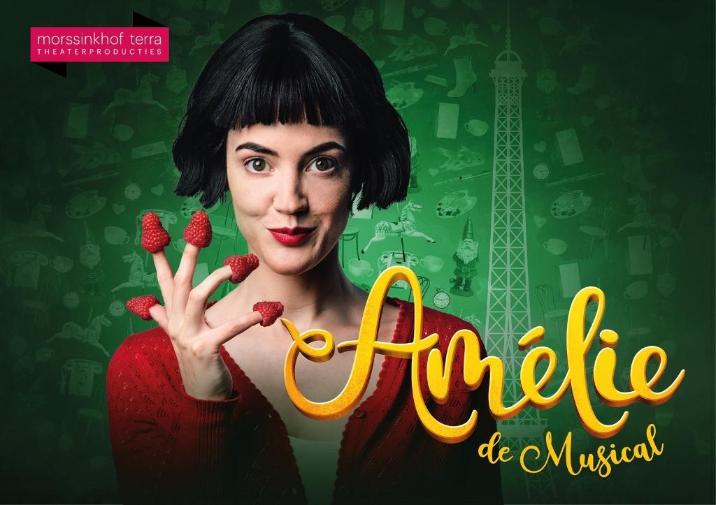 Beleef het verhaal van de dromerige Amélie die probeert anderen liefde en vrolijkheid te brengen, in het mooie Parijs.  (Foto: aangeleverd) © rodi