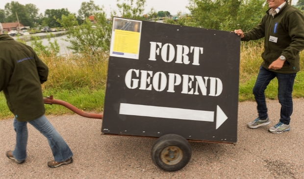 <p>De deuren van het fort gaan weer open!&nbsp;</p>
