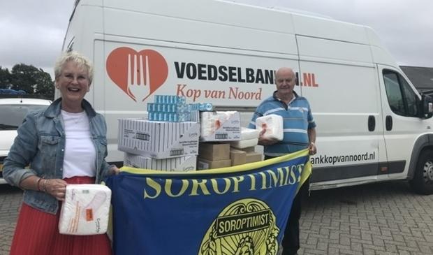 <p>Soroptimisten in actie voor de Voedselbank</p>