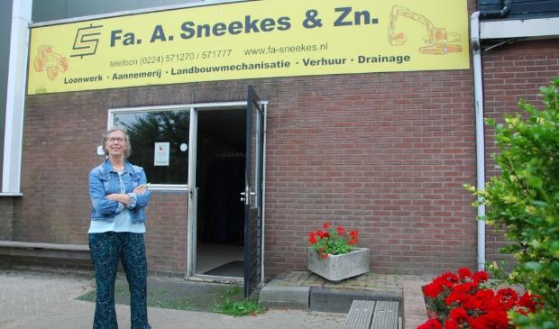 Ina Drost neemt afscheid van Firma A. Sneekers & Zn.