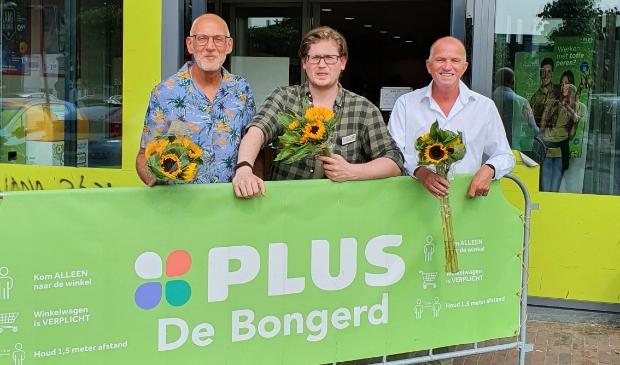 <p>V.l.n.r.: John Moorman, Danny van den Berg en Adri Groen.</p>