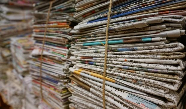 Bundel uw oud papier.