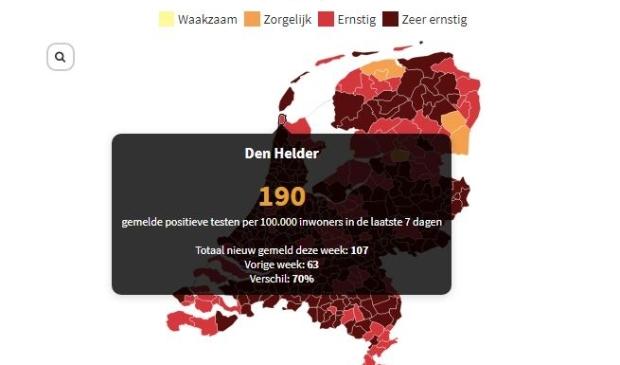 <p>&nbsp;In bijna heel Nederland is de situatie nu &#39;ernstig&#39; tot &#39;zeer ernstig&#39; </p>