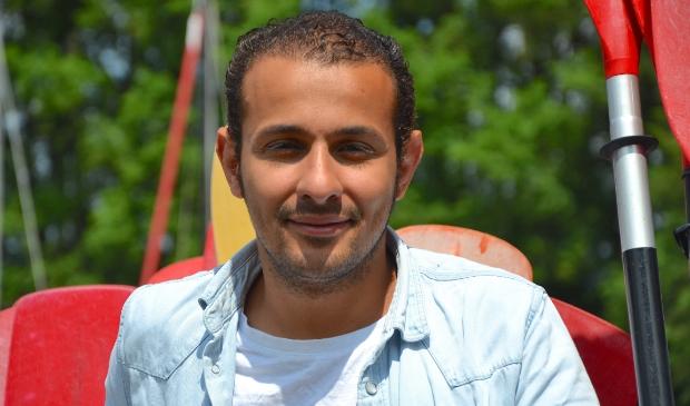 <p>Mehdi werkt met veel plezier in Nieuw-West.</p>