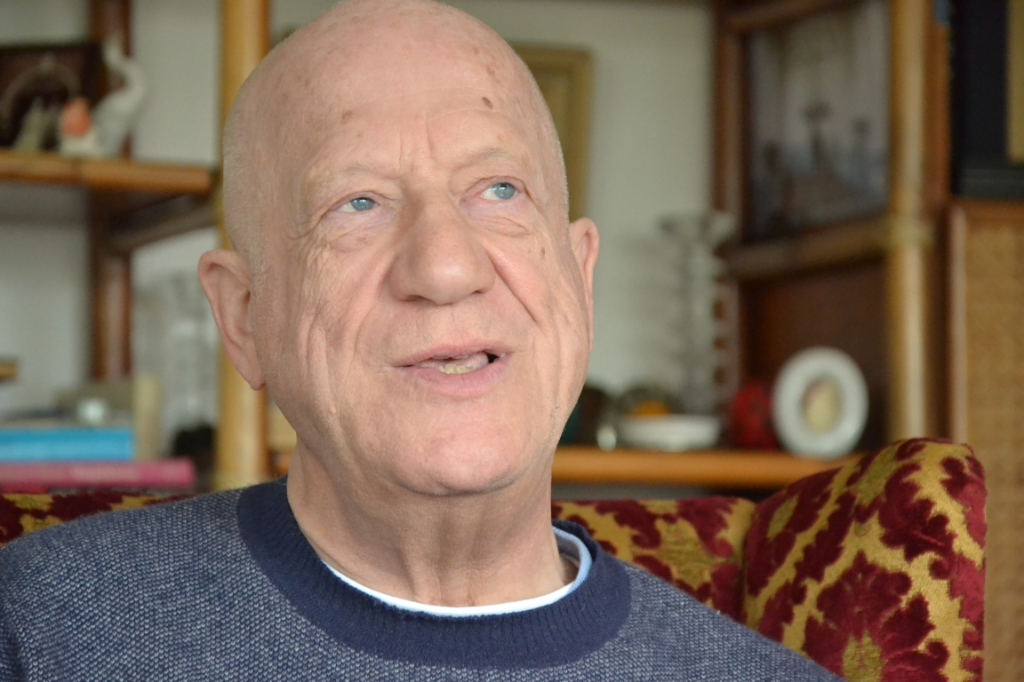 Robert Jan is gepensioneerd dominee van de Sloterkerk.  © rodi