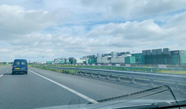 <p>Datacenter ter hoogte van Slootdorp (A7) in gemeente Hollands Kroon.</p>