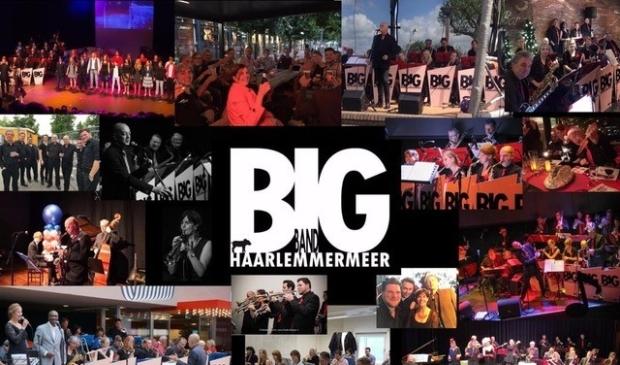 <p>Bigband Haarlemmermeer treedt regelmatig op.</p>