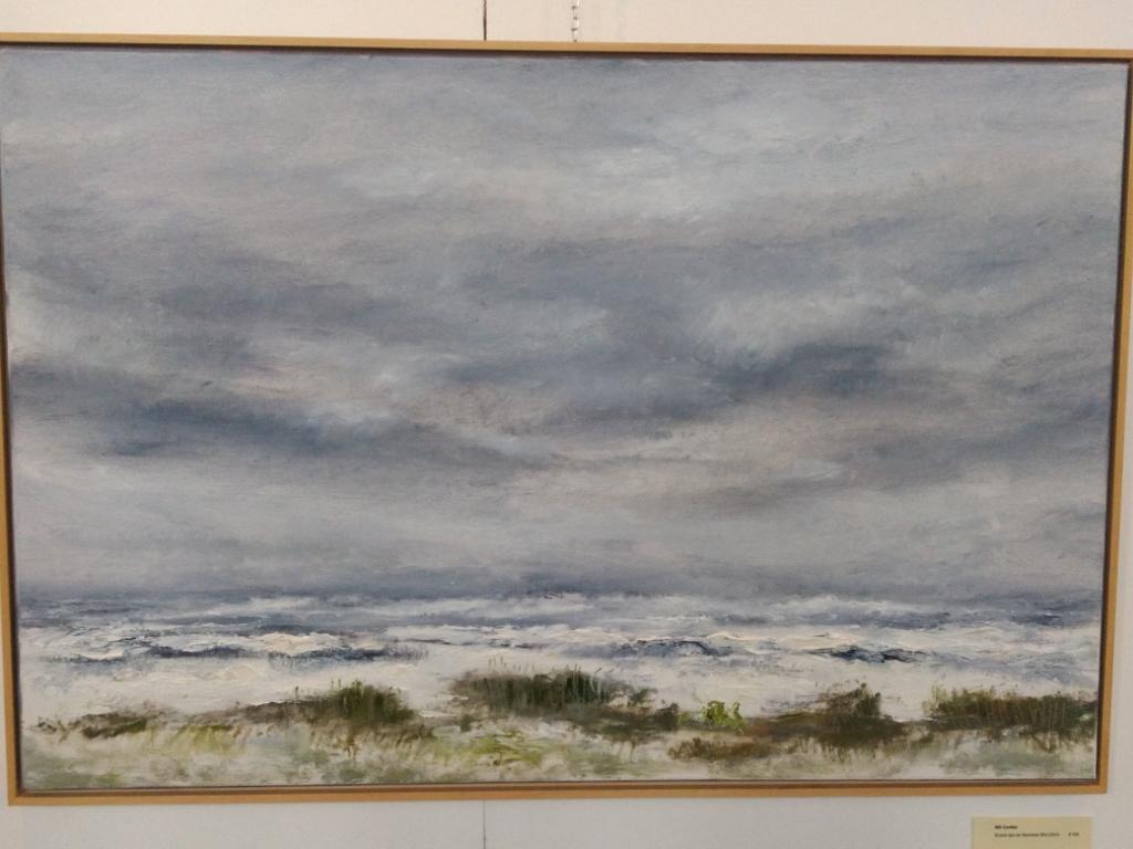 Zicht op de Noordzee: Verkocht werk van de expositie Verrassend verschillend in de Westerkerk. Foto: Rodi Media/IH © rodi