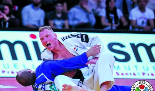 <p>De Heemskerkse judoka Frank de Wit op archiefbeeld.</p>