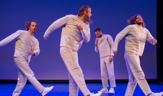 <p>Dansvoorstelling Stuk van 155 in samenwerking met Maas theater en dans.</p>