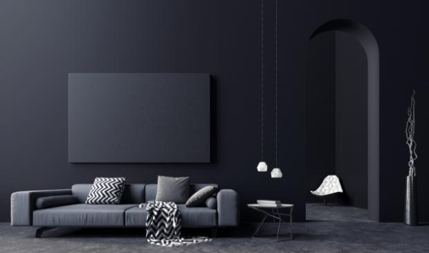 <p>Donkere kleuren geven je huis een unieke uitstraling.</p>
