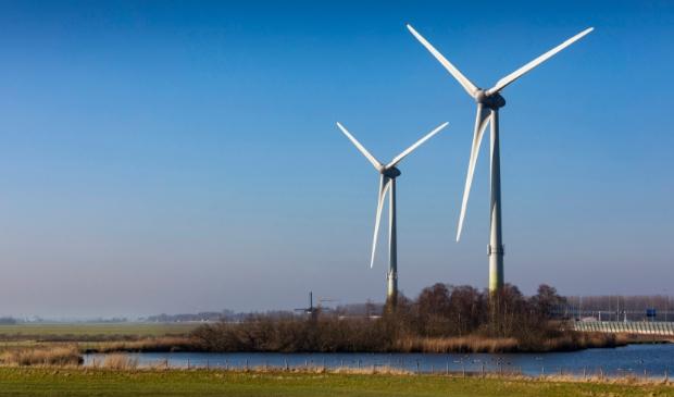 <p>De twee windturbines: De Watergeuzen.</p>