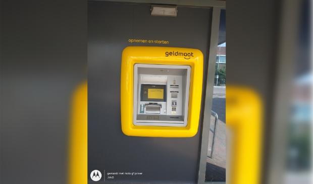<p>Pinautomaat Rabobank vervangen door geldautomaat van Geldmaat.</p>