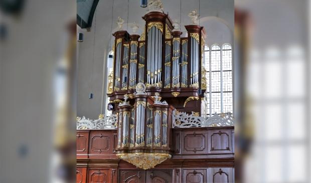 <p>Het orgel in de Oosterkerk in Hoorn.</p>