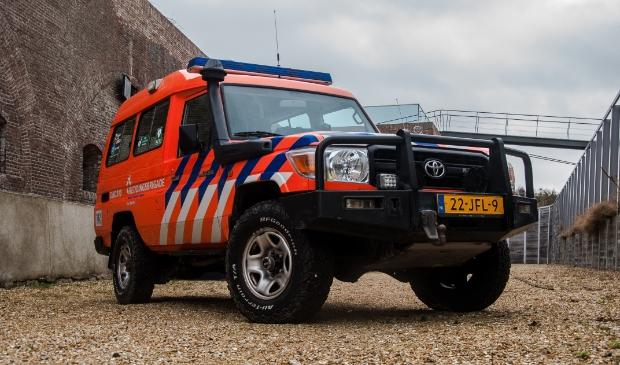 <p>Ook Reddingsbrigade Den Helder schiet te hulp bij de wateroverlast in Limburg.</p>