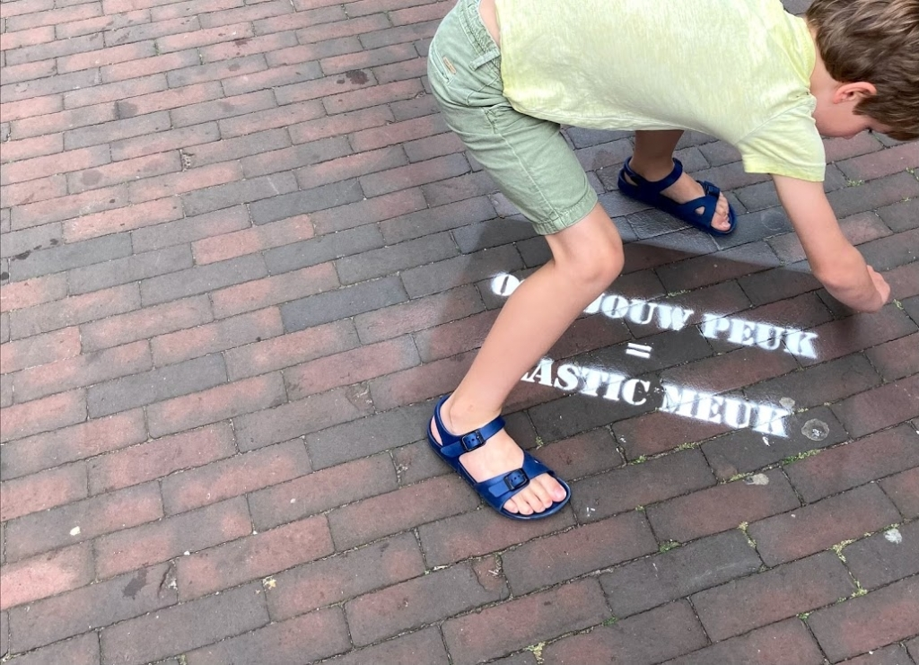 Markeringen op straat laten aan duidelijkheid niets te wensen over. (Foto: Aangeleverd) © rodi