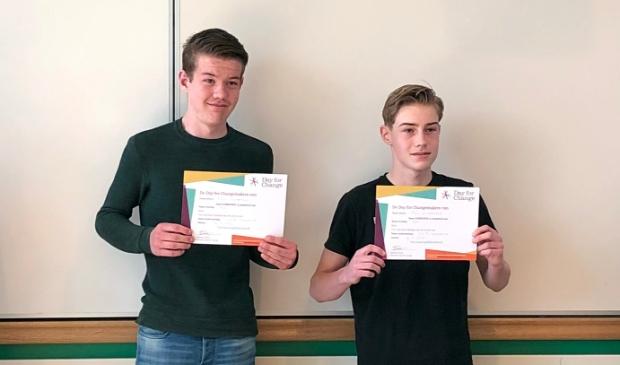 <p>Jens en Ralf winnen landelijke Day for Change Verkiezing.</p>
