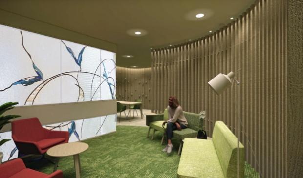 """<p pstyle=""""PLAT"""">In de stilteruimte kunnen medewerkers, pati&euml;nten en bezoekers tot rust komen.</p>"""