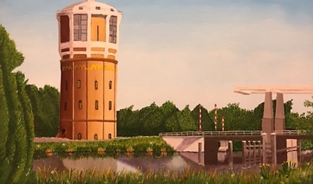 """<p pstyle=""""PLAT"""">De watertoren te Westzaan van Henk Deyle.</p>"""