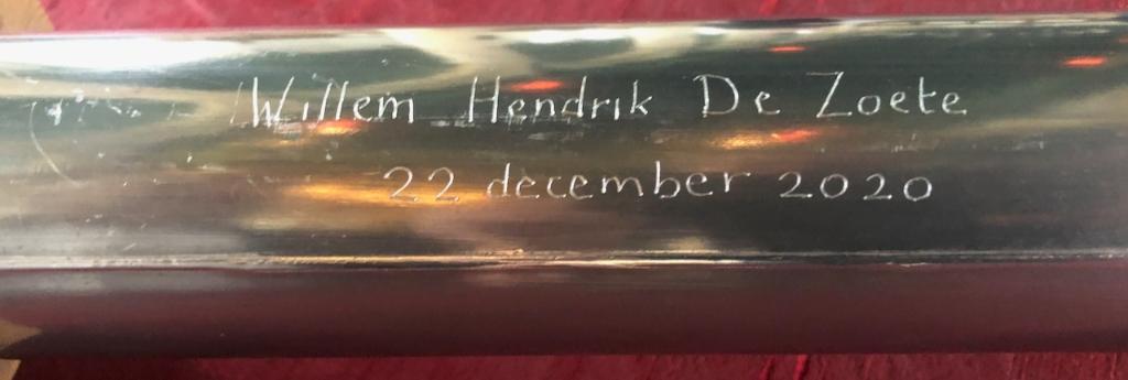 Je eigen naam, of die van een ander, in een orgelpijp: hoe bijzonder is dat! Foto: aangleverd © rodi
