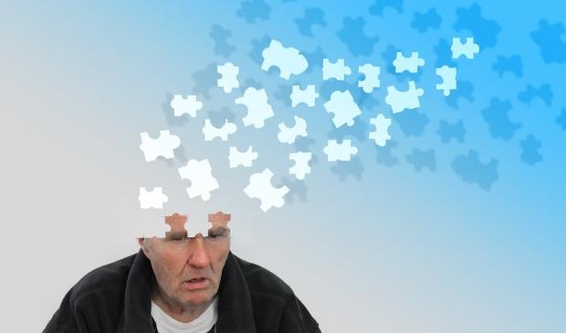 <p>Alzheimer: steeds meer puzzelstukjes in je hoofd...&nbsp;</p>