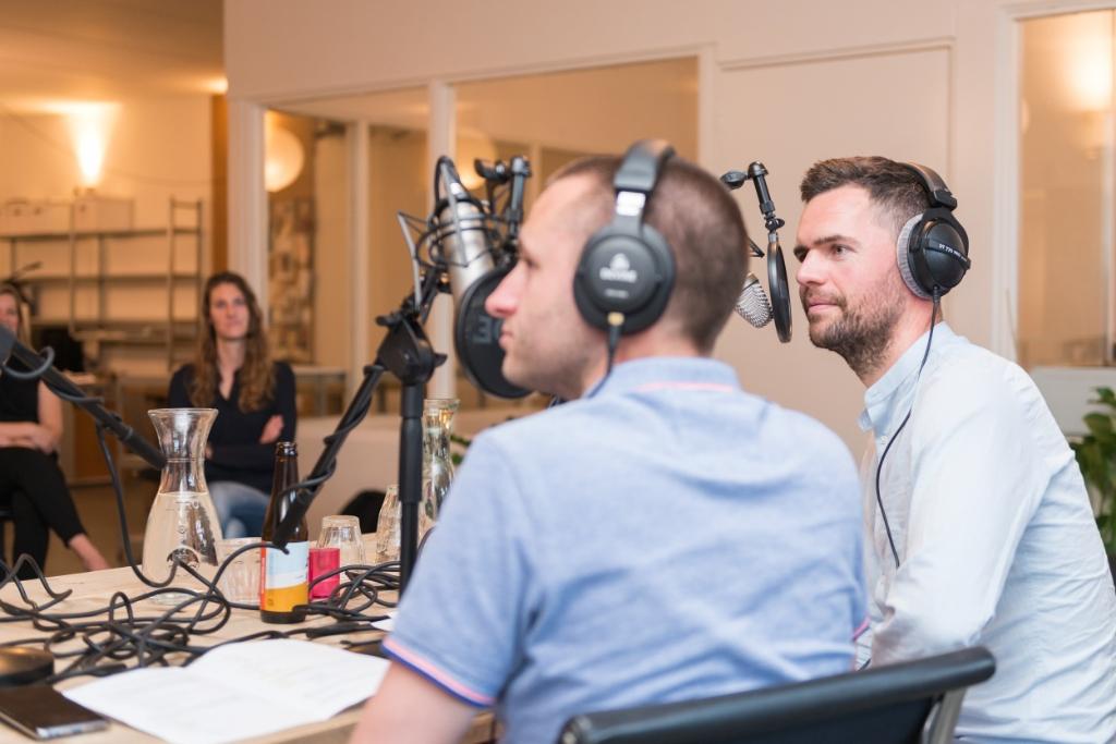Hoe maak je een goed podcast? (Foto: aangeleverd) © rodi