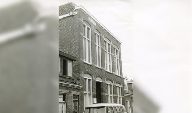 <p>Gebouw Kleuterschool Hoogstraat in 1967.</p>