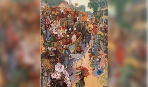 <p>Het is feest! Het circus komt in de stad en met een optocht wordt dat duidelijk gemaakt. De organisatie van de Zaanse UITmarkt liet zich inspireren door zo&#39;n optocht. &nbsp; &nbsp; &nbsp; &nbsp; &nbsp;&nbsp;</p>