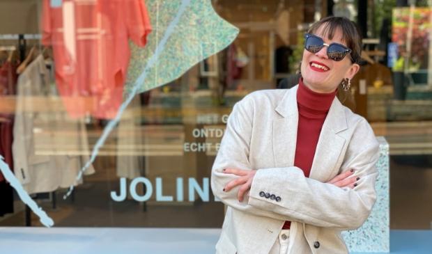 <p>Ontwerper Joline Jolink maakt alleen duurzame mode.&nbsp;</p>
