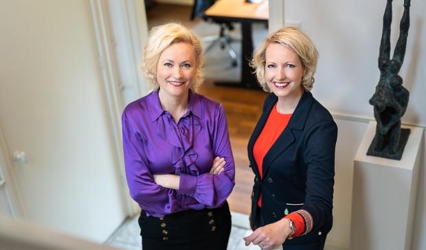 <p>Carola en Liane de Ruijter: met FamilieZaken genomineerd voor de NHN Business Awards.</p>