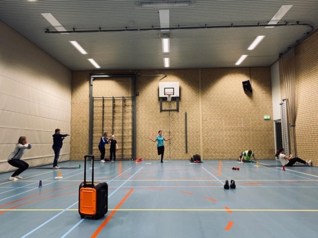 Samen sporten is gezond én gezellig. ((Foto: aangeleverd)) © rodi