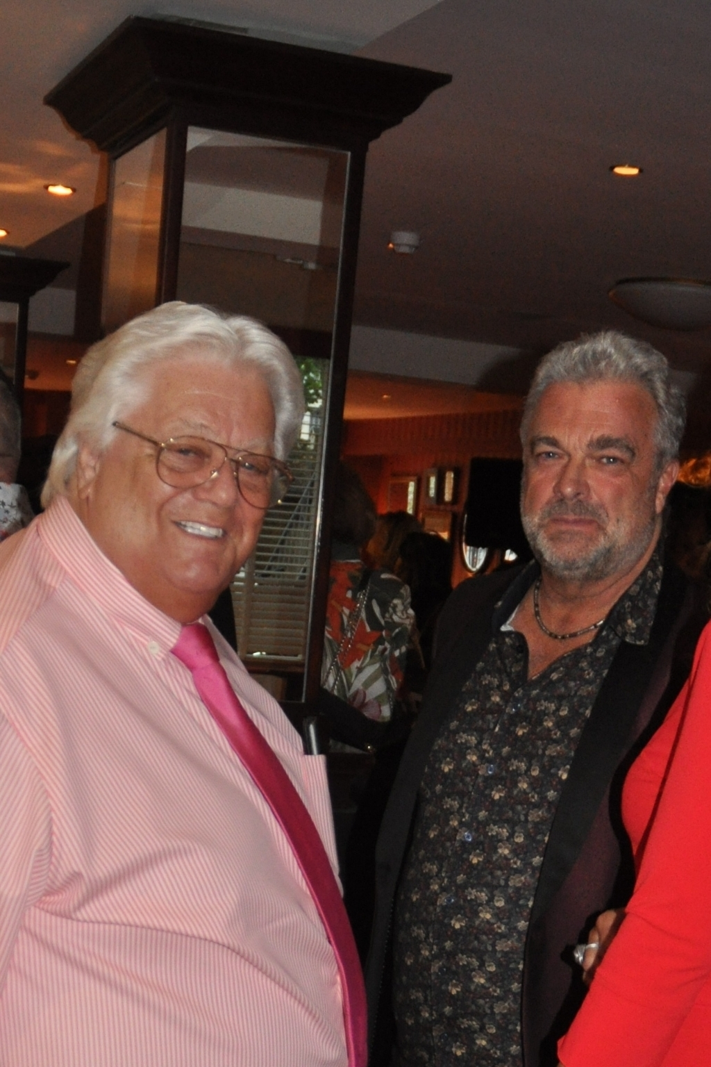 Tony Tetro en TV man Michael Bakker.  (Foto: Martin Reitsma) © rodi