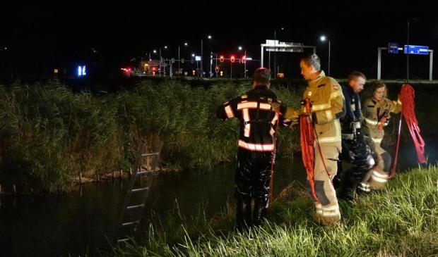 <p>Duikactie afgelopen nacht in Enkhuizen na melding persoon te water.</p>