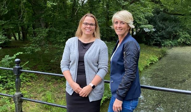 <p>Jolanda Steunenberg (l) en Jolanda Bakker.&nbsp;</p>