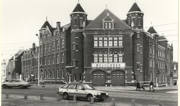<p>Het Politiebureau aan het Schipperplein/Duinstraat in Scheveningen &nbsp;</p>
