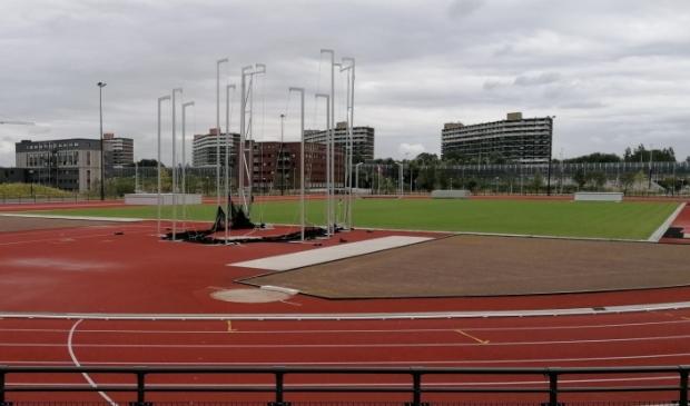 <p>De atletiekbaan in Elzenhagen Zuid.</p>