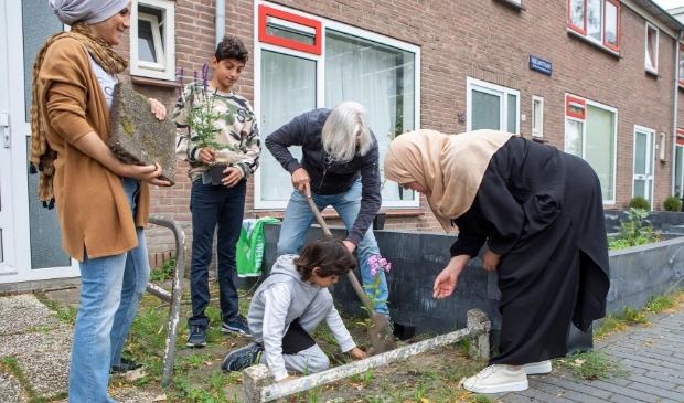 <p>Bewoners Overdie gaan voor een groene wijk&nbsp;</p>