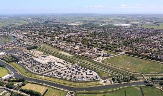 <p>Locatie Westpoort/De Scheg; hier wil de gemeente Heerhugowaard 750 woningen bouwen.</p>