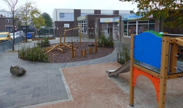 <p>Het schoolplein van OBS De MEI is recent helemaal opgeknapt.&nbsp;</p>
