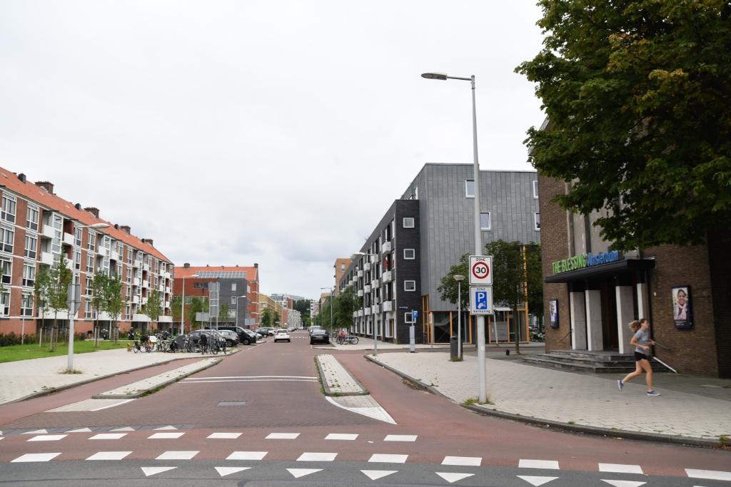 De Derkinderenstraat nu. ((Foto: Brandeisfotografie) © rodi