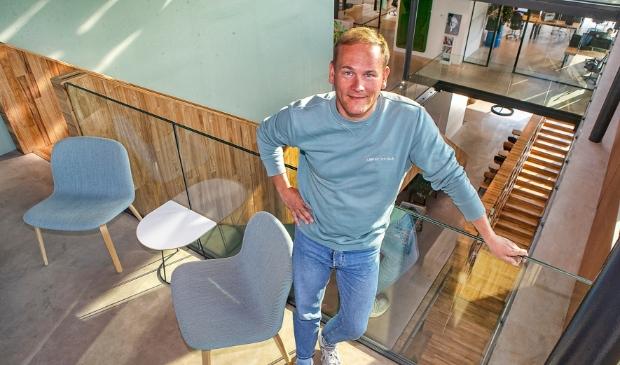 <p>Chris Obdam bij Betty Blocks in Alkmaar </p>