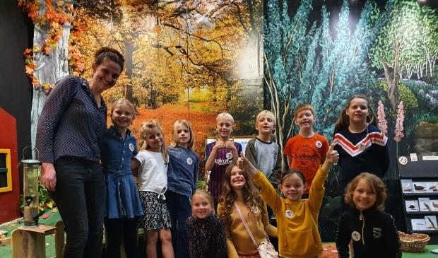 <p>Schoolbezoek aan het Pieter Vermeulen Museum.</p>