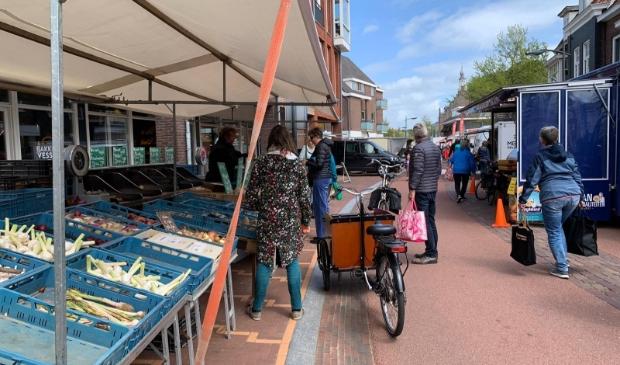 Dorpsstraat in Castricum.