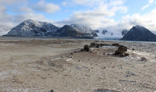 <p>Traanoven van Smeerenburg op Spitsbergen. &nbsp;</p>
