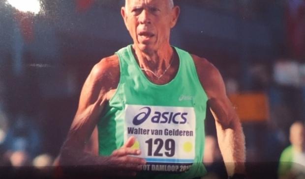 <p>Walter van Gelderen houdt van hardlopen, maar wil geen wedstrijden meer doen.</p>