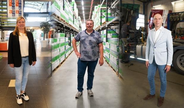 <p>V.l.n.r.: Danica Zewald (Horizon College), Mattijs de Vries (Bejo) en Jacco Rijkhoff (LVS Trucks).</p>