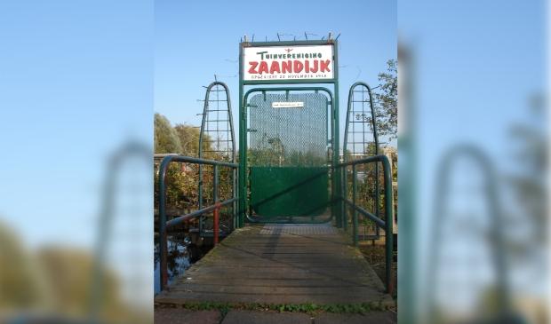 <p>De poort naar het complex van Tuinvereniging Zaandijk. </p>